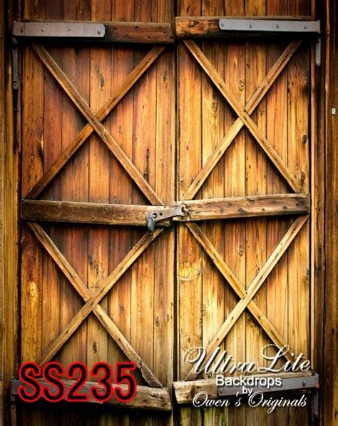 Photography Backdrop Rustic Wood Barn Door Scenic Photo Barn Doors Photography