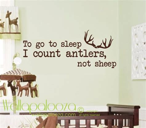 count antlers wall decal wall count antlers wall decal wall decal sleep wall