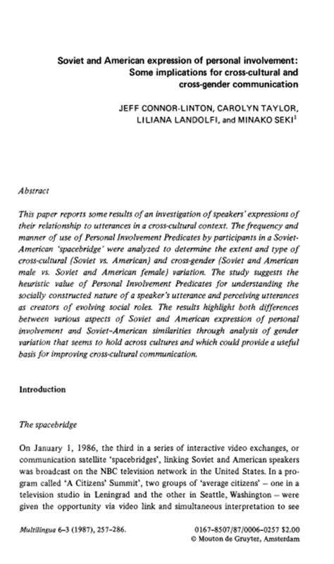 personal and cultural expression publish with glogster soviet and american expression of personal involvement