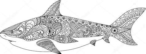 projeto de arte de linha de tubar 227 o para colorir livro