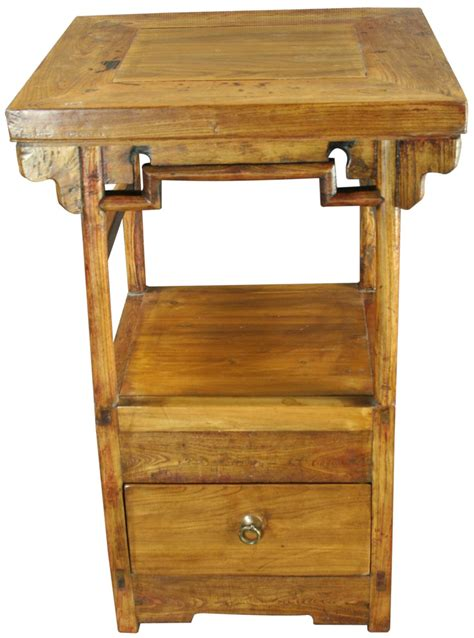 antique accent table nightstand kitchen stove ebay