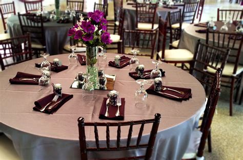 table setting for buffet style maggie s caf 233 catering weddings