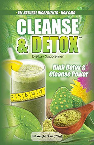 Whole Cleanse And Detox by Whole Cleanse And Detox Powder 14 Oz Plus Free