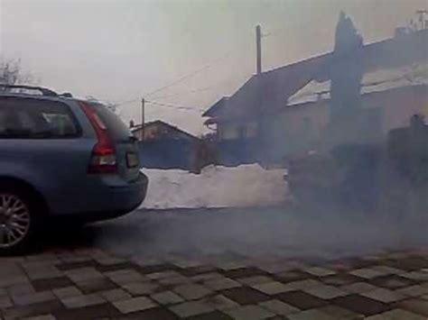 volvo    dpf white smoke youtube