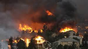 Urban Lights Denver Colorado Wildfire 2012 Residents Return Home To Discover