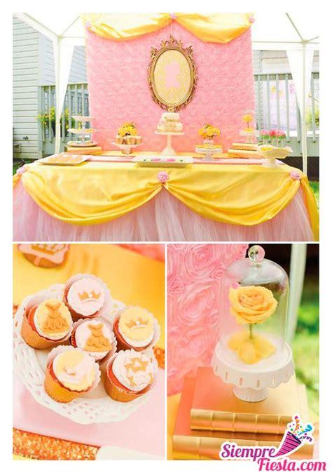 decoracion de fiesta de la princesa bella y la bestia disney ideas and ideas para fiestas on pinterest