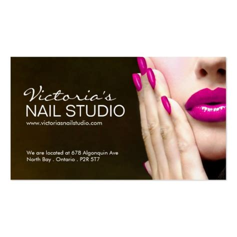 nail business cards templates 2 000 nail technician business cards and nail technician