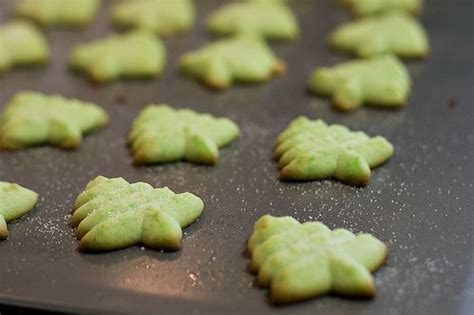 almond extract tree shaped cookies christmas recipes