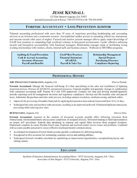 Accounting Resume by Accountant L Picture Accounting Resume Sles