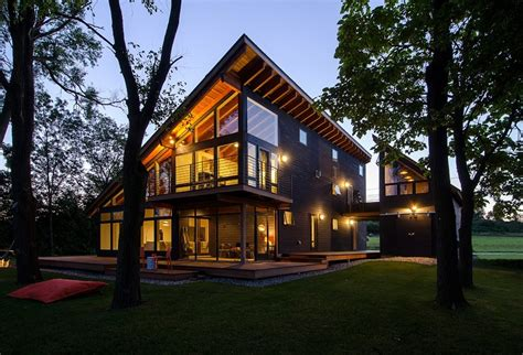 home design for views cool lake home designed to enjoy the views and create art