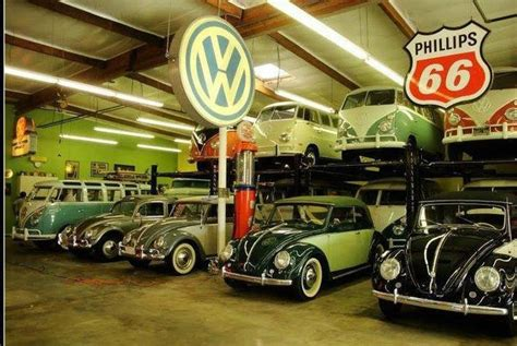 volkswagen garage vw and beetle garage school vw s