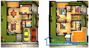 Modern House Design With Floor Plan In The Philippines House Plans And Design Modern House Plans And Designs In
