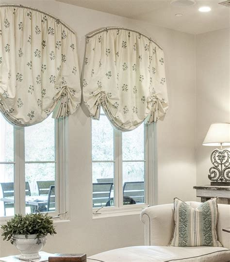 Drapery Treatments 25 Best Ideas About Arched Window Treatments On