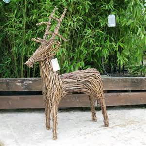 buy wicker reindeers online the old basket company tobs