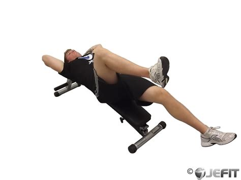 knee on bench dumbbell twisting lying cable crunch exercise database jefit