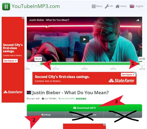 youtubeinmp3 com youtubeinmp3 second step download mp3 convertmp3 io