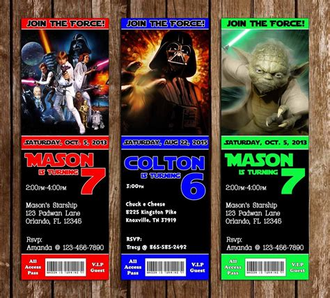 printable star wars movie tickets novel concept designs star wars movie birthday party