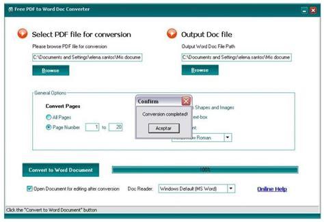 free 6 microsoft word doc free pdf to word doc converter