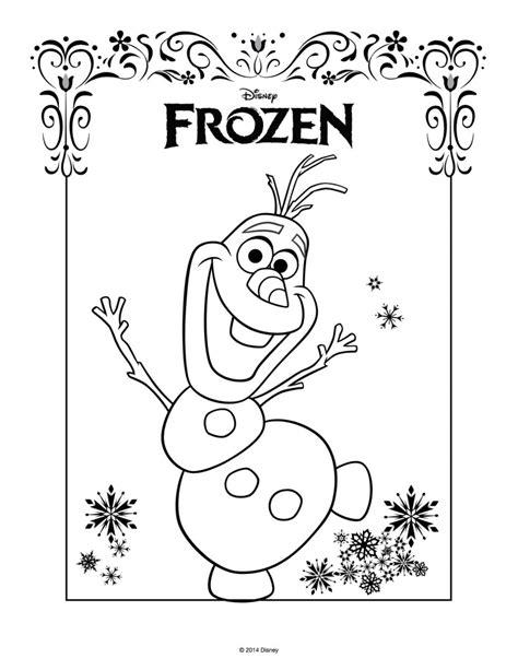 frozen coloring pages high quality disegni da colorare di frozen da stare gratis olaf