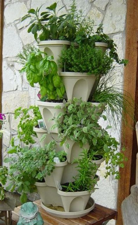 Stacking Pots Planters ideas for maximizing your garden space organic survivalist site