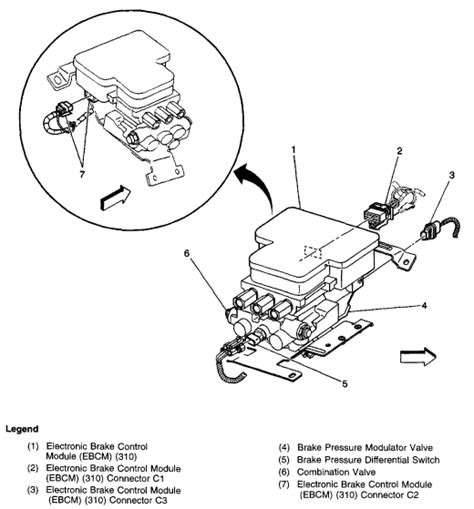 Brake Line Diagram 2000 Silverado 2003 Silverado Brake Diagram Http Www Justanswer