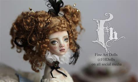 porcelain doll on carousel fhdolls porcelain bjd doll carousel ova by