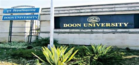 Mba Sc by Doon Result 2018 Mba Ma M Sc Name Wise