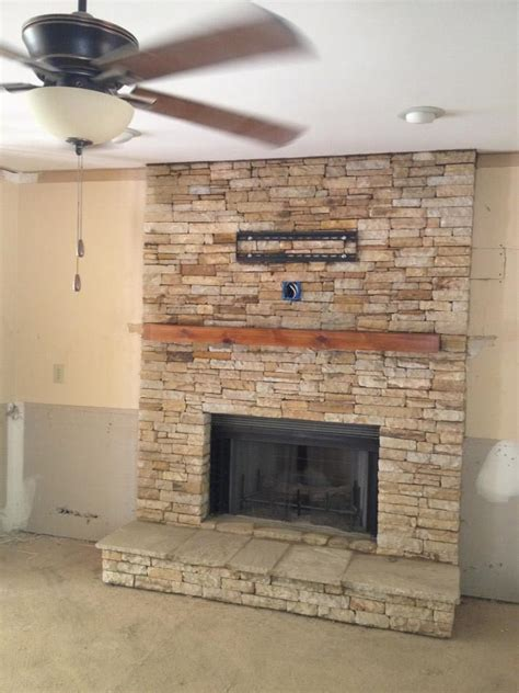 Air Stone Fireplace Surround   Fireplace Designs