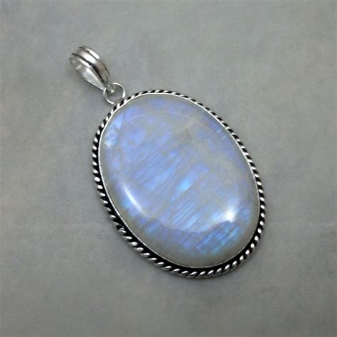 gemstone for jewelry rainbow moonstone gemstone 925 sterling silver