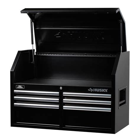 Husky 36 In 12 Drawer Tool Chest And Cabinet Combo In by Husky 36 In 6 Drawer Tool Chest Black H36ch6 The Home
