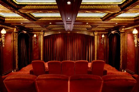 lighting design for home theater movie reel decor home theater traditional with recessed
