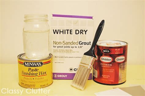 diy chalk paint recipe grout chalk paint materials jpg
