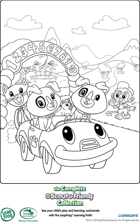 Leap Frog Coloring Pages Leapfrog Printable Coloring Page Mama Likes This
