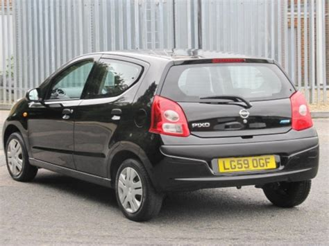 nissan pixo black used nissan pixo 2009 model petrol black for sale in epsom