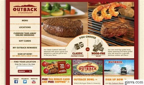 design menu steak 30 restaurant website design that will make you hungry