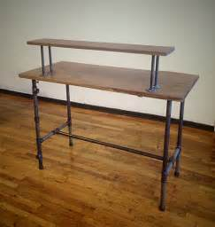 pipe desk plans steel pipe standing desk a different approach s2 web