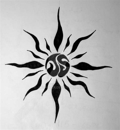 cool sun tattoo designs cool small designs home design
