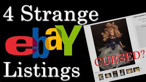 haunted doll sold on ebay 4 of the strangest items being sold on ebay haunted doll