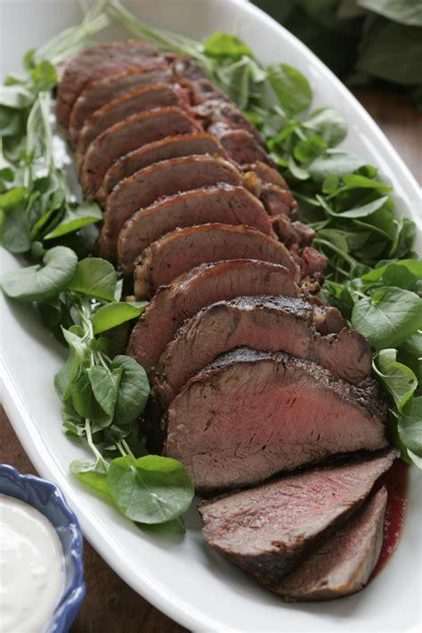 recipe roast tenderloin of beef with horseradish creme