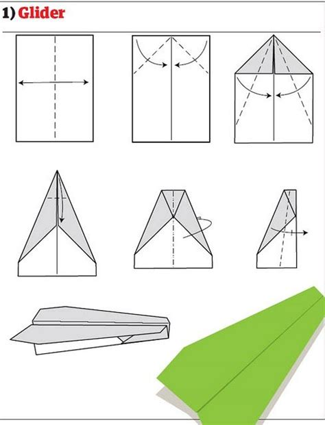 How To Make A Regular Paper Airplane - how to build cool paper planes 13 pics