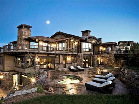 utah house 21 9 million contemporary mountaintop mansion in park