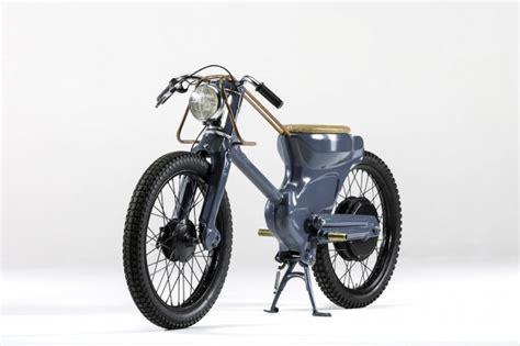 Elektro Motorrad Retro by Neo Retro Electric Moped Fubiz Media