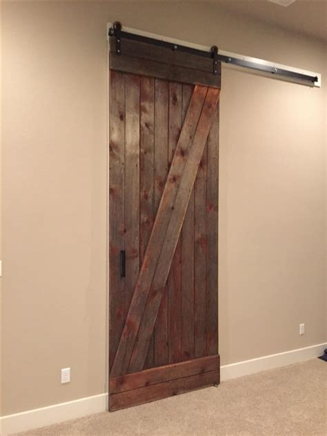 Sliding Barn Doors by Made Reclaimed Sliding Barn Door 10 By