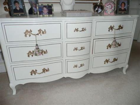 White Dresser With Gold Trim by Antique White Provincial Dresser W Gold Trim 62