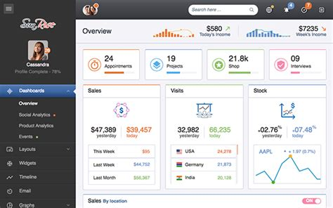 bootstrap templates for hospital management system sunrise admin dashboard template admin dashboards