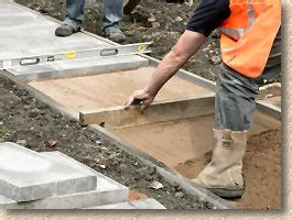Diy Patio Slab Pavingexpert Aj Mccormack And Son How To Lay Flags And