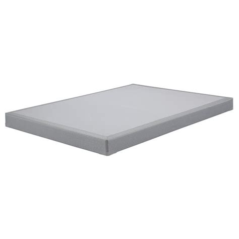 low profile bed foundation sierrasleep queen low profile mattress foundation in gray