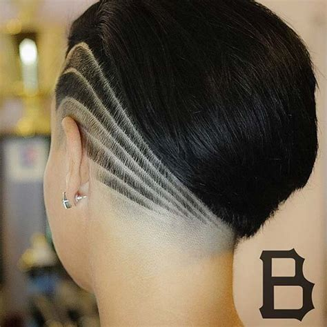 womans hair thinning on sides 45 undercut hairstyles with hair tattoos for women with