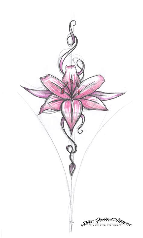 design flower images flower design by stevegolliotvillers on deviantart
