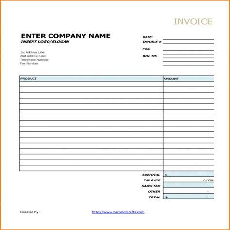 generic invoice task list templates